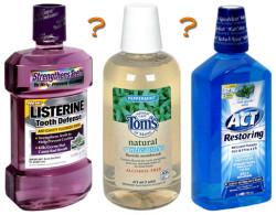 fluoride mouthwash rinse