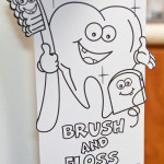 Brush and floss your teeth for good oral hygiene