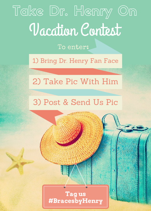 Take Dr. Henry On Vacation Contest | Align Orthodontics