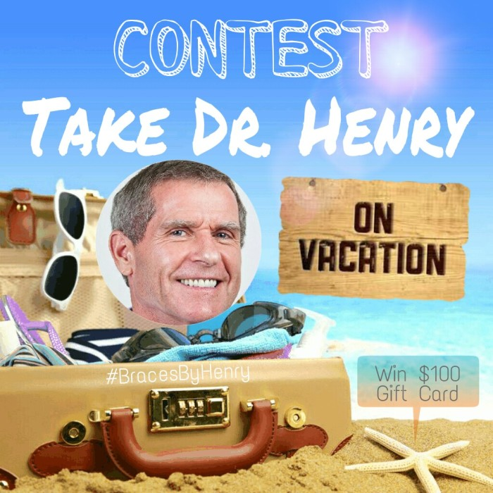 Take Dr Henry on Vacation Contest