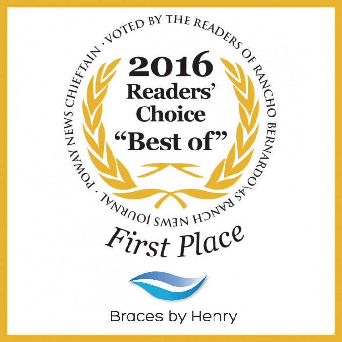 Braces by Henry Wins Best Orthodontist
